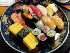 大関寿司で寿司