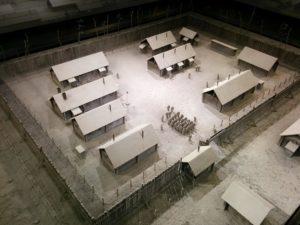 収容所模型
