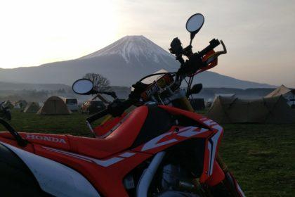 明け方には富士山がくっきり