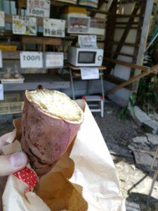 焼き芋100円