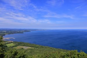 サロマ湖展望台からの絶景